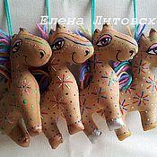 Куклы и игрушки ручной работы. Ярмарка Мастеров - ручная работа Радужные лошадки. Handmade.