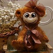 Куклы и игрушки ручной работы. Ярмарка Мастеров - ручная работа Обезьянка по имени Лулу. Handmade.