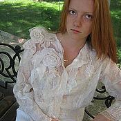 """Одежда ручной работы. Ярмарка Мастеров - ручная работа Жакет """"Венчальный"""". Handmade."""
