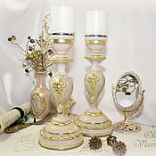 Для дома и интерьера handmade. Livemaster - original item Candle holders