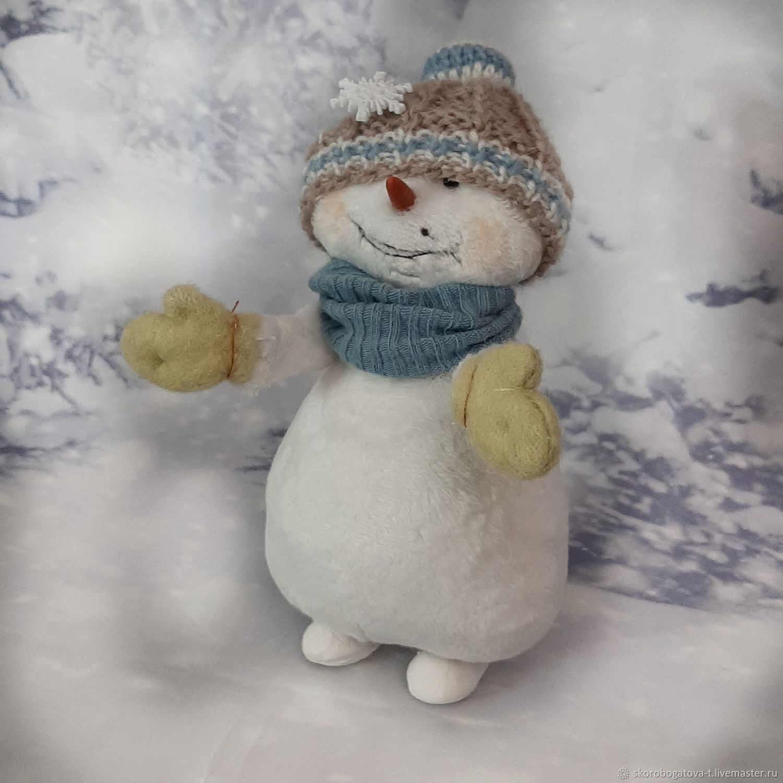 Снеговик смешной, Мягкие игрушки, Одинцово,  Фото №1