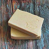 Косметика ручной работы. Ярмарка Мастеров - ручная работа Овсяное с цитрусами и ванилью натуральное мыло с нуля. Handmade.