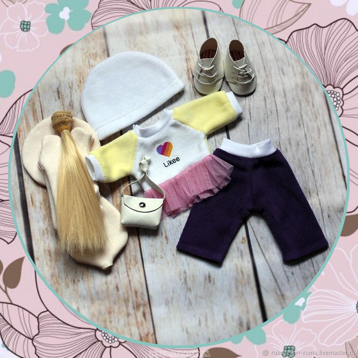 Набор для создания текстильной интерьерной куклы, Наборы для шитья, Старый Оскол,  Фото №1