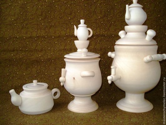 Декупаж и роспись ручной работы. Ярмарка Мастеров - ручная работа. Купить Чайная посуда. Handmade. Чайник, посуда из дерева