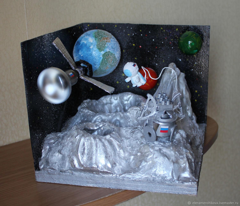 представляет собой поделки на тему космоса фото большой