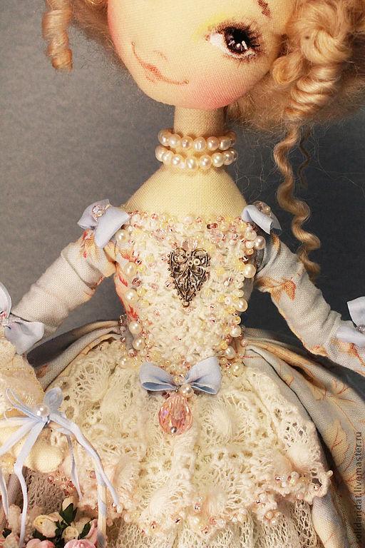 Коллекционные куклы ручной работы. Ярмарка Мастеров - ручная работа. Купить Вероника. Handmade. Коллекционная кукла, куклы ивановой татьяны