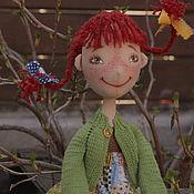 """Куклы и игрушки ручной работы. Ярмарка Мастеров - ручная работа """"Пеппи"""" текстильная игровая кукла ручной работы. Handmade."""