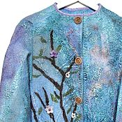 """Одежда ручной работы. Ярмарка Мастеров - ручная работа Жакет """"Песнь ветра"""". Handmade."""