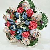 Цветы и флористика ручной работы. Ярмарка Мастеров - ручная работа Букет из киндер-сюрпризов БКС-2. Handmade.