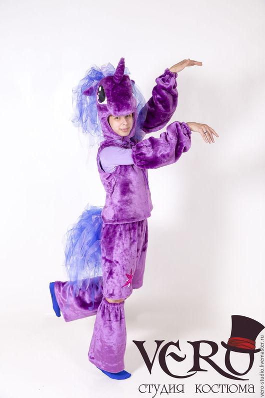 Карнавальные костюмы ручной работы. Ярмарка Мастеров - ручная работа. Купить Костюм пони искорки. Handmade. Фиолетовый, карнавальные костюмы