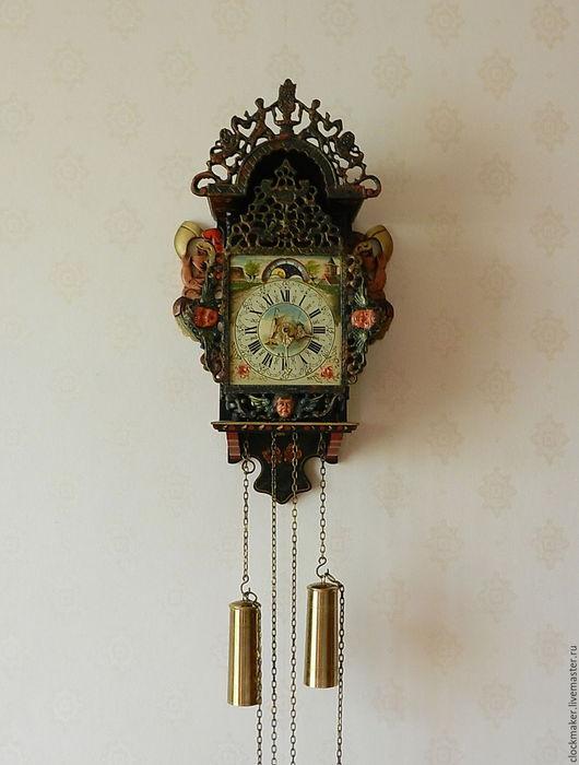 Реставрация. Ярмарка Мастеров - ручная работа. Купить Настенные часы в старинном стиле. Handmade. Старинные часы, латунь