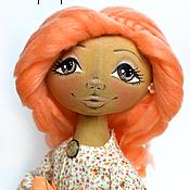 Куклы и игрушки ручной работы. Ярмарка Мастеров - ручная работа Тыквогололвка Персик. Handmade.