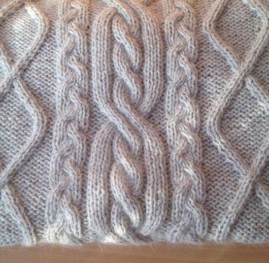 Кофты и свитера ручной работы. Ярмарка Мастеров - ручная работа. Купить Свитер с множеством переплетений. Handmade. Свитер, свитер теплый