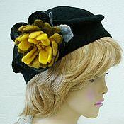 """Шляпы ручной работы. Ярмарка Мастеров - ручная работа Шляпа """"Осеннее золото"""". Handmade."""