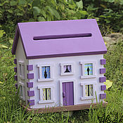 Свадебный салон ручной работы. Ярмарка Мастеров - ручная работа Свадебный домик для денег Tectum Purpura. Handmade.
