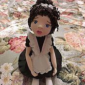 Подарки к праздникам ручной работы. Ярмарка Мастеров - ручная работа Кукла школьница из полимерной глины. Handmade.