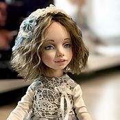 Куклы и игрушки ручной работы. Ярмарка Мастеров - ручная работа Подвижная кукла Изабель. Handmade.