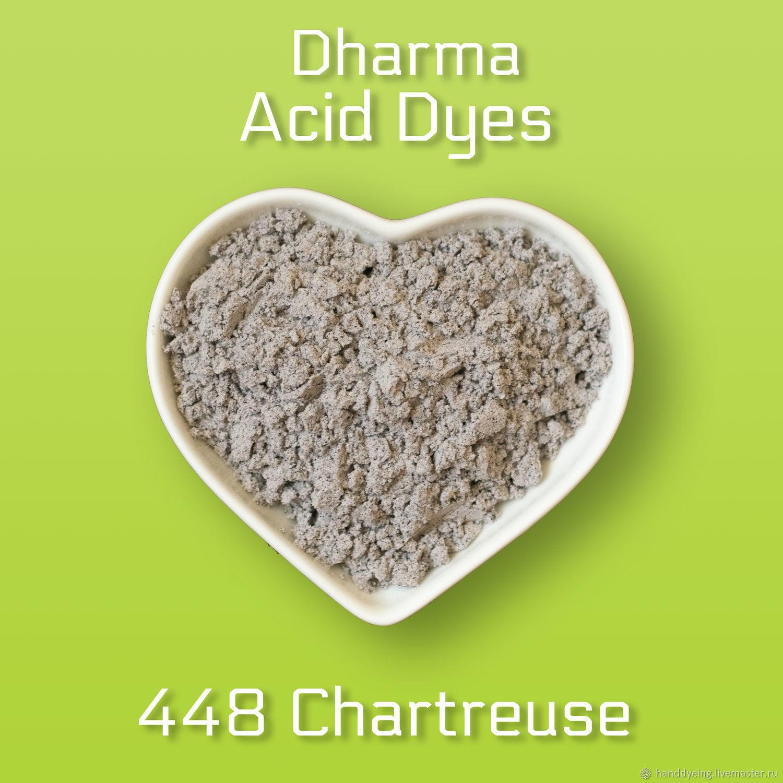 Краситель 448 Chartreuse, Dharma Acid Dyes, Материалы для валяния, Севастополь,  Фото №1