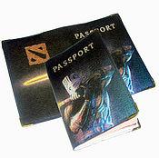 Канцелярские товары handmade. Livemaster - original item Passport cover. Cover for documents
