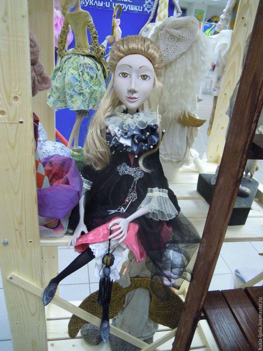 Коллекционные куклы ручной работы. Ярмарка Мастеров - ручная работа. Купить Пьеретта. Handmade. Авторская кукла, авторская ручная работа