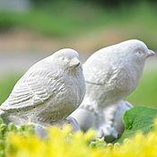 Статуэтки ручной работы. Ярмарка Мастеров - ручная работа Птички на желудях 2шт. Прованс Винтаж для дома и сада. Handmade.