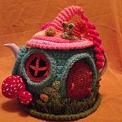 """Для дома и интерьера ручной работы. Ярмарка Мастеров - ручная работа грелка на чайник """"Сказка"""". Handmade."""