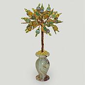 Цветы и флористика handmade. Livemaster - original item Tree of opal (cat`s eye)