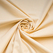 Материалы для творчества ручной работы. Ярмарка Мастеров - ручная работа Рубашечная  ткань в тонкую  полоску (two-fold cotton)  Camicissima. Handmade.