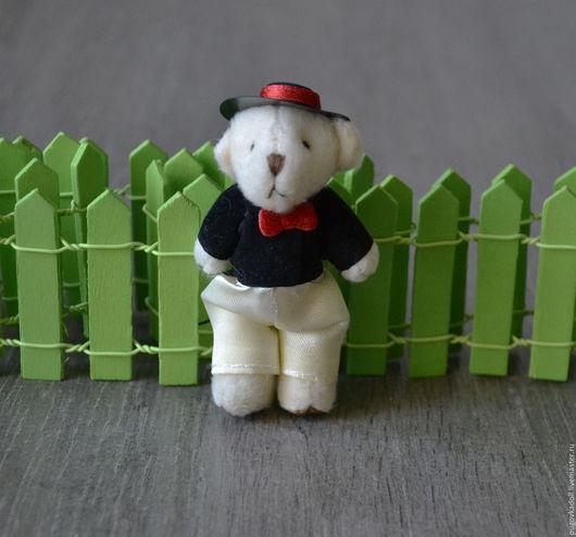 Куклы и игрушки ручной работы. Ярмарка Мастеров - ручная работа. Купить Мишка для игрушек. Handmade. Белый, мишка, мишка в подарок