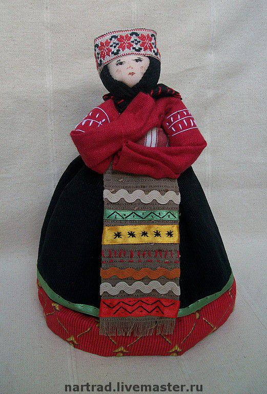 Folk Dolls handmade. Livemaster - handmade. Buy folk doll Molitvennitsa.Black, a doll in Russian costume