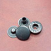 Материалы для творчества handmade. Livemaster - original item Alpha button, 12,5 mm, Big accessories. Handmade.