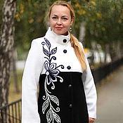 "Одежда handmade. Livemaster - original item Knitted coat ""the Firebird-3"". Handmade."