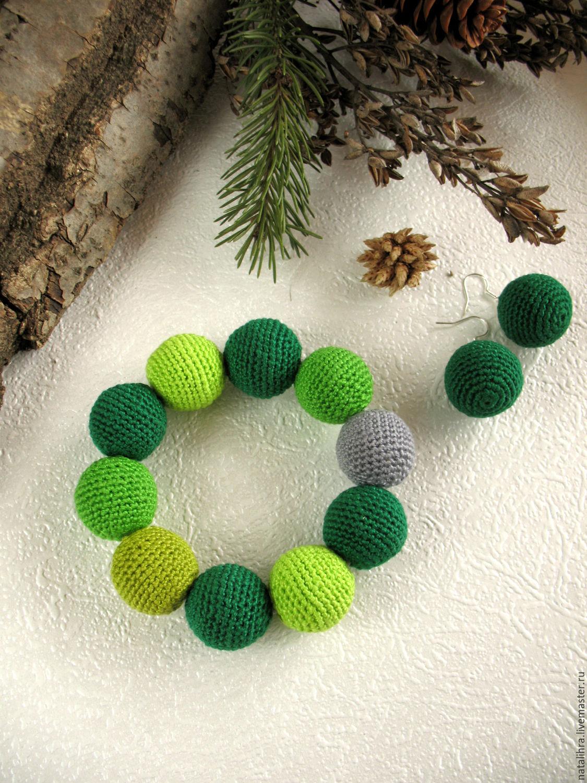 Зеленые украшения своими руками