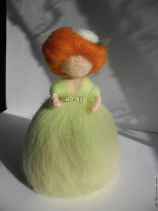 Сказочные персонажи ручной работы. Ярмарка Мастеров - ручная работа. Купить Кукла из шерсти. Handmade. Разноцветный, игрушка ручной работы