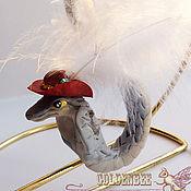 """Подарки к праздникам ручной работы. Ярмарка Мастеров - ручная работа елочная игрушка """"Змея"""". Handmade."""