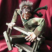 Куклы и игрушки ручной работы. Ярмарка Мастеров - ручная работа ЛёДчик-истребАтель. Handmade.