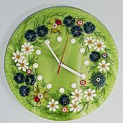 """Для дома и интерьера ручной работы. Ярмарка Мастеров - ручная работа Настенные часы """"Лето"""" -2. Handmade."""