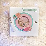 Канцелярские товары handmade. Livemaster - original item Photo book for girls
