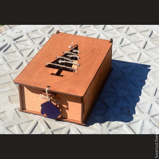 Шкатулки ручной работы. Ярмарка Мастеров - ручная работа. Купить Набор домиков из фанеры в коробке. Handmade. Сувенир, для дома и интерьера
