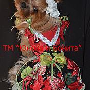 """Для домашних животных, ручной работы. Ярмарка Мастеров - ручная работа Платье """"Цветочные Нимфы"""". Handmade."""