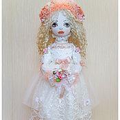 Куклы и игрушки ручной работы. Ярмарка Мастеров - ручная работа авторская кукла  НЕВЕСТА. Handmade.