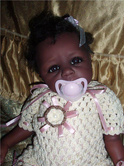 Куклы-младенцы и reborn ручной работы. Ярмарка Мастеров - ручная работа. Купить Этническая малышка Хола(Продана). Handmade. Кукла реборн