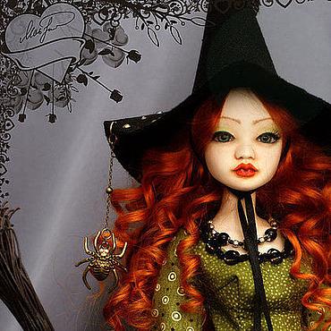 """Куклы и игрушки ручной работы. Ярмарка Мастеров - ручная работа Шарнирная кукла """"Ядвига"""". Handmade."""