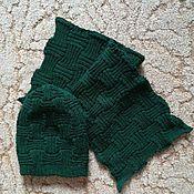 Одежда ручной работы. Ярмарка Мастеров - ручная работа Шапка и шарфик. Handmade.