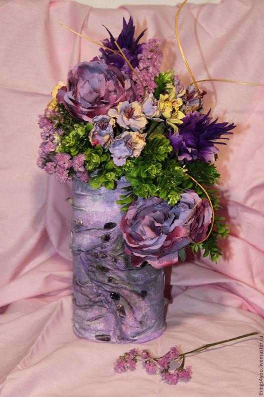 Вазы ручной работы. Ярмарка Мастеров - ручная работа. Купить Композиция в вазе. Handmade. Композиция из цветов, ваза для цветов