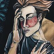 Картины и панно ручной работы. Ярмарка Мастеров - ручная работа I still think about you. Handmade.