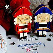 """Подарки к праздникам ручной работы. Ярмарка Мастеров - ручная работа Ёлочная игрушка """"Щелкунчик"""". Handmade."""