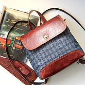 Сумки и аксессуары handmade. Livemaster - original item Design backpack