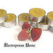 """Сувениры и подарки ручной работы. Ярмарка Мастеров - ручная работа свеча """"Чайная"""". Handmade."""