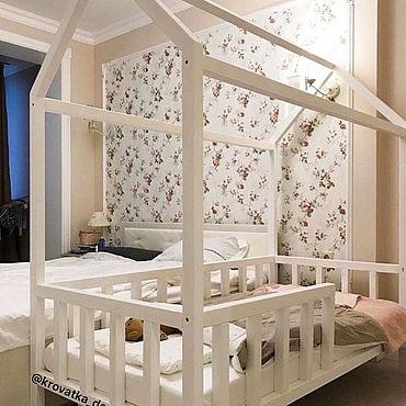 Мебель ручной работы. Ярмарка Мастеров - ручная работа Кроватка-домик. Handmade.